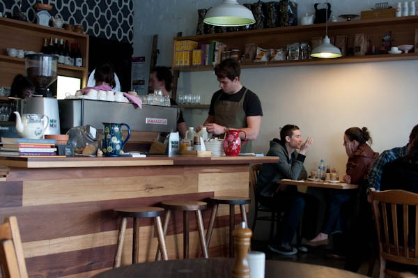 If you're north of the city, and wanting a really good breakfast, head to Pope Joan, Nicholson Street, East Brunswick.