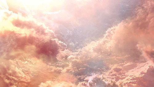 When the sun finally bursts through the clouds... | 11 Signs The Universe Is Telling You To Take A Break