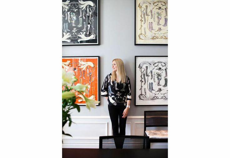 Hermès Silk Scarf Interior Inspiration