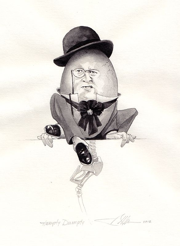 Humpty Dumpty ∙ Alice in Wonderland & Through the Looking Glass ∙ R. MICHELSON GALLERIES