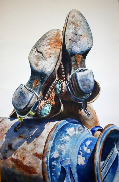 Nelson Boren - Cowboy Artist | Western Art Prints | West Watercolor Artist