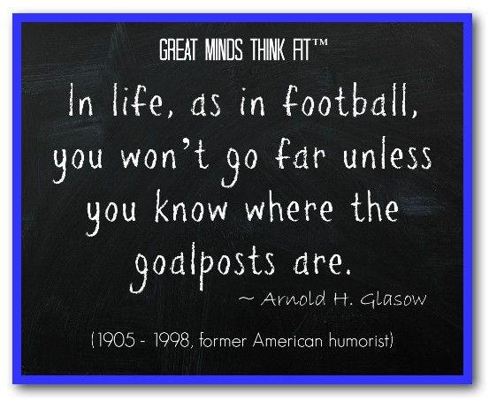Famous #Football #Quote by Arnold H. Glasow