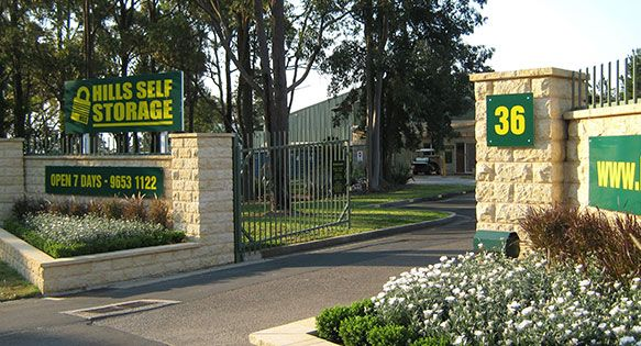 Hills Self Storage in Galston offers a variety of Self Storage options on 6 acres of land in Sydney's north west.