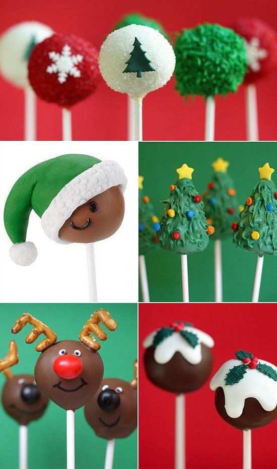 From smiling elves to glistening ornaments and everything in between, we've found some of the best baked pops out there. What could be sweeter?!