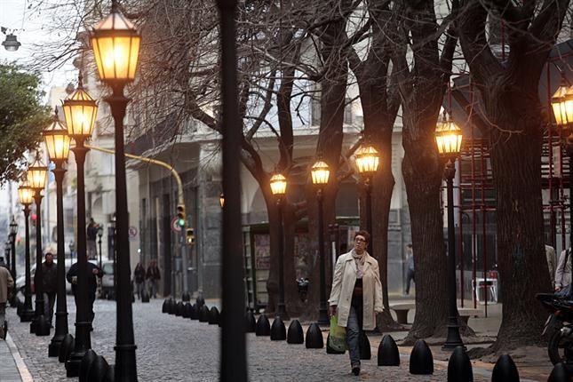 Callecitas porteñas: la Manzana de las Luces, sólo para peatones. Foto: LA NACION /Soledad Aznarez