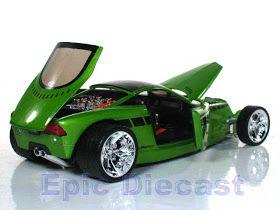 Ter o carro dos sonhos na estante é bacana, agora ter na estante e na garagem é o máximo. Chip Foose e a JL Full Throttle se juntaram e t...
