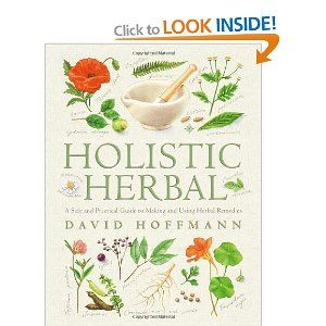 Holistic Herbal: A Safe and Practical Guide to Making and Using Herbal Remedies: David Hoffmann:# Books #herbalist# herbalism# medicine#therapy#