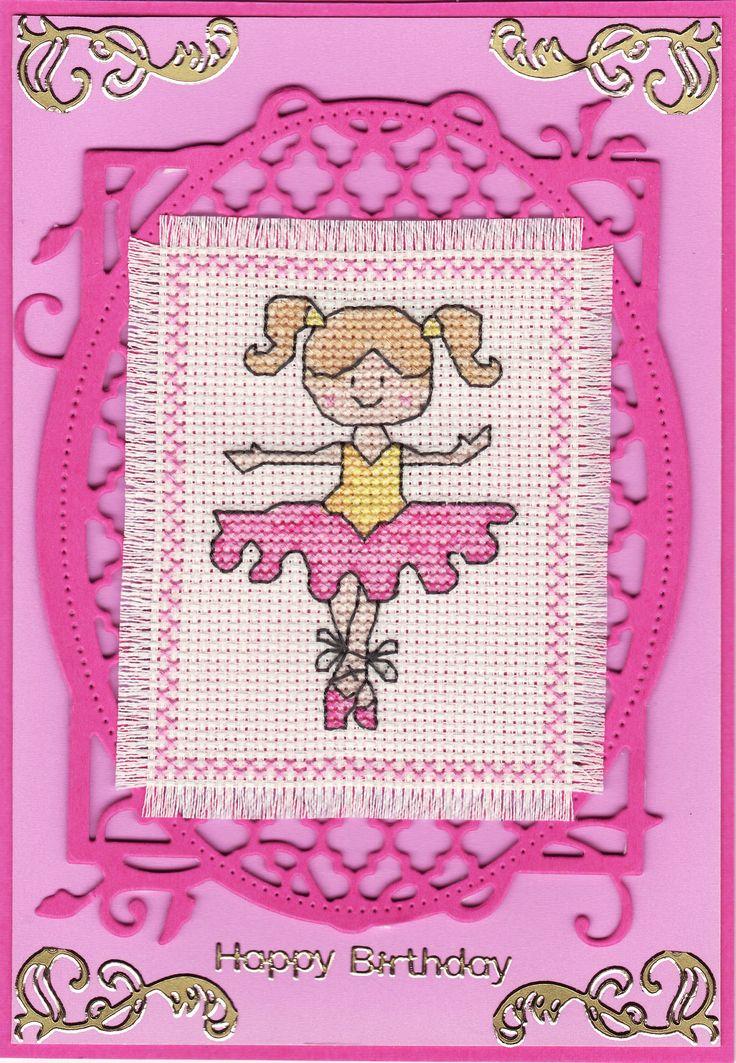 cross-stitched tiny ballerina (by Tassie Scrapangel)