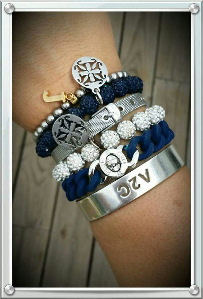 Blue & Silver Stack!