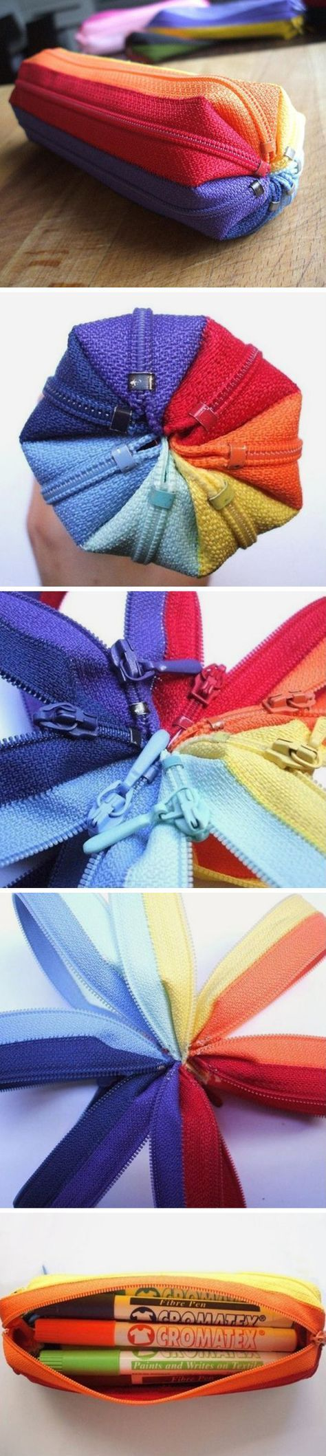 DIY Amazing Zipper Projects You Should Try Today7