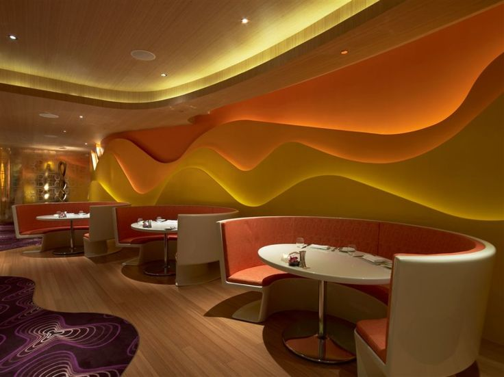 It Was The Idea And Design Of Karim Rashid That Brought Silk Road Restaurant To Life Is Located In Las Vegasin Vdara Hotel