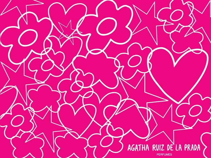 Resultado de imagen para wallpaper agatha ruiz de la prada for Carrelage agatha ruiz dela prada