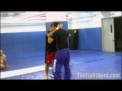 Renzo Gracie's easy clinch takedown - YouTube