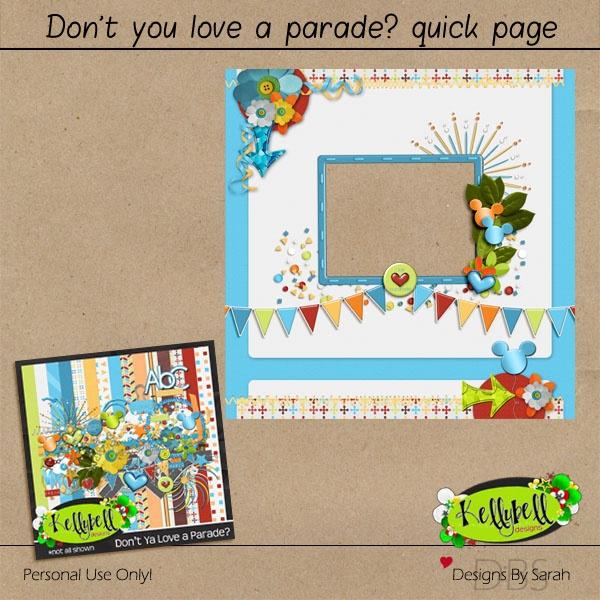 Don't You Love A Parade? QP freebie