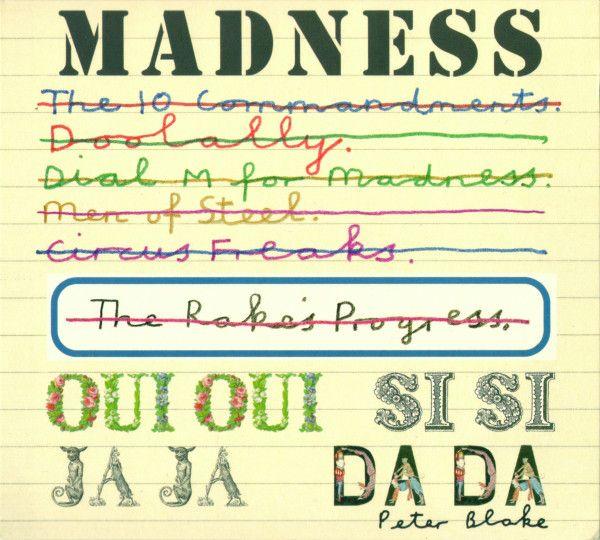 Madness Oui Oui Si Si Ja Ja Da Da Releases Discogs Album Covers Lonely Heart Peter Blake