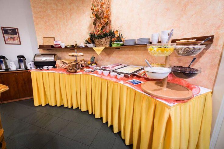 Hotel Melantrich - hotelová snídaně