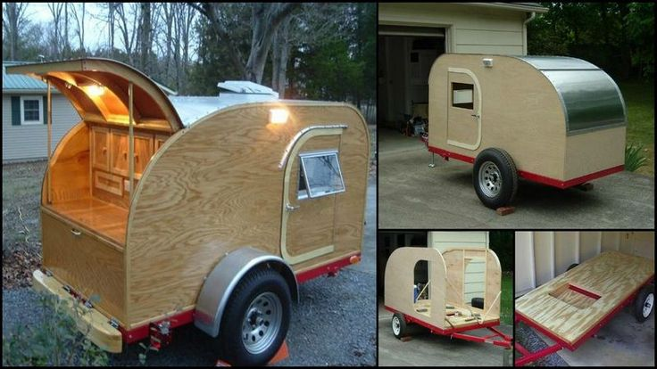 Build your own teardrop trailer from the ground up | The Owner-Builder Network