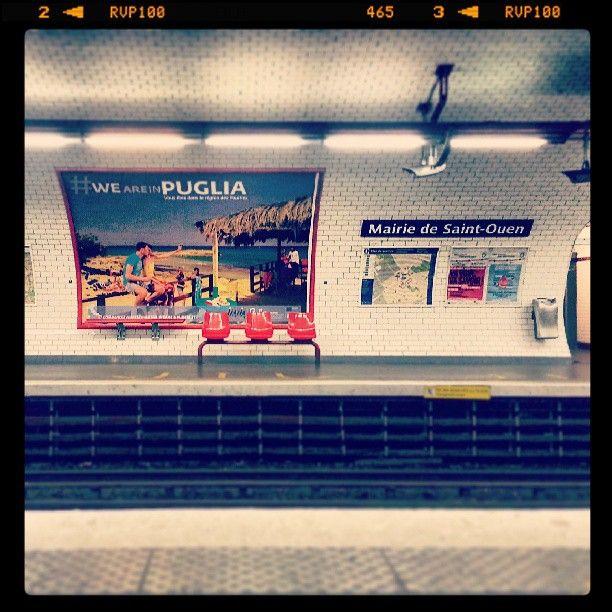 #weareinpuglia decisamente! #separigiavesseilmare #paris www.weareinpuglia.it