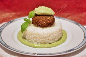 Kalandok a konyhában : Gombás fasírt avokádós szósszal