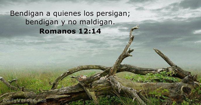 Romanos 12:14 - dailyverses.net