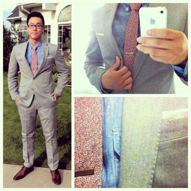 cele mai bune 25 de idei despre grey suit brown shoes pe