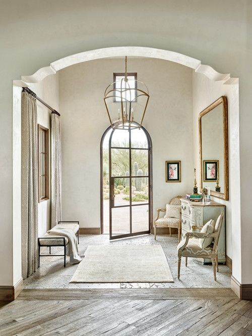 Front door. Entry. Foyer. Mirabel Estate. PHX Architecture, Scottsdale, AZ. Werner Segarra Photography.