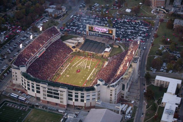 Donald W. Reynolds Stadium  U of Arkansas at Fayetteville