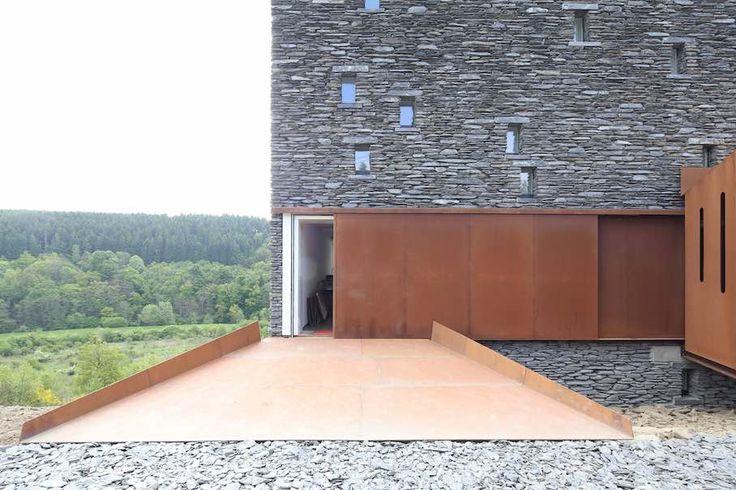 pierre hebbelinck atelier d 39 architecture maison schaap vogelesang martelange huisserie. Black Bedroom Furniture Sets. Home Design Ideas