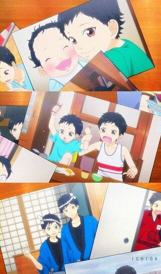 Ao haru ride   Kou was such a cute kid :3