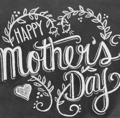 Happy Mother'sday to all you awesome moms!!! Hope you all get spoiled!!!