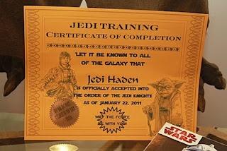 certificado de conclusão de treinamento jedi