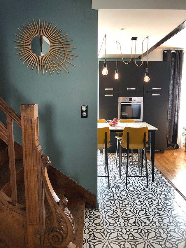 Une Cuisine Audacieuse Signee Arthur Bonnet Rodez Deco Maison Decoration Maison Et Maison