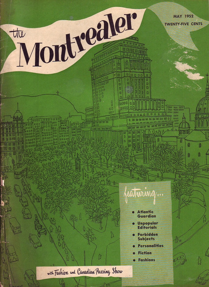 The Montrealer May 1952