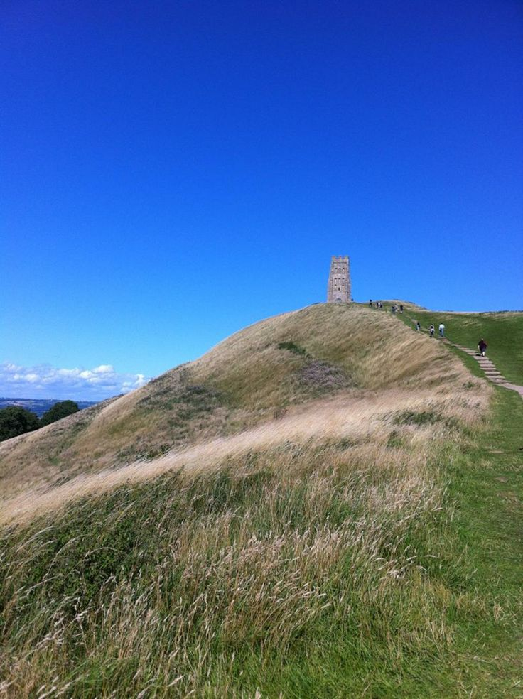 Walking up the Tor