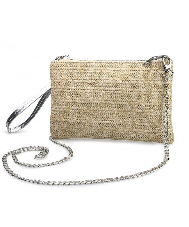 Cross Body Bag Wristlet Clutch Womens