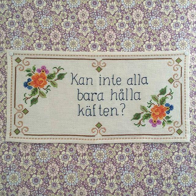 #reinsta från @broderiklubbenbk #textilslöjd #swedish