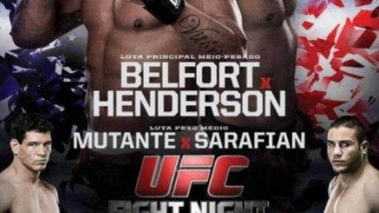 Vitor Belfort x Dan Henderson 2 550x309 UFC Fight Night : Vitor Belfort x Dan Henderson Ao Vivo