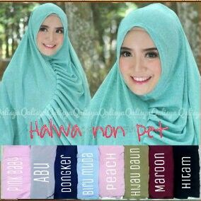 Halwa non pet matterial jersey idr. 75 exclude shipping