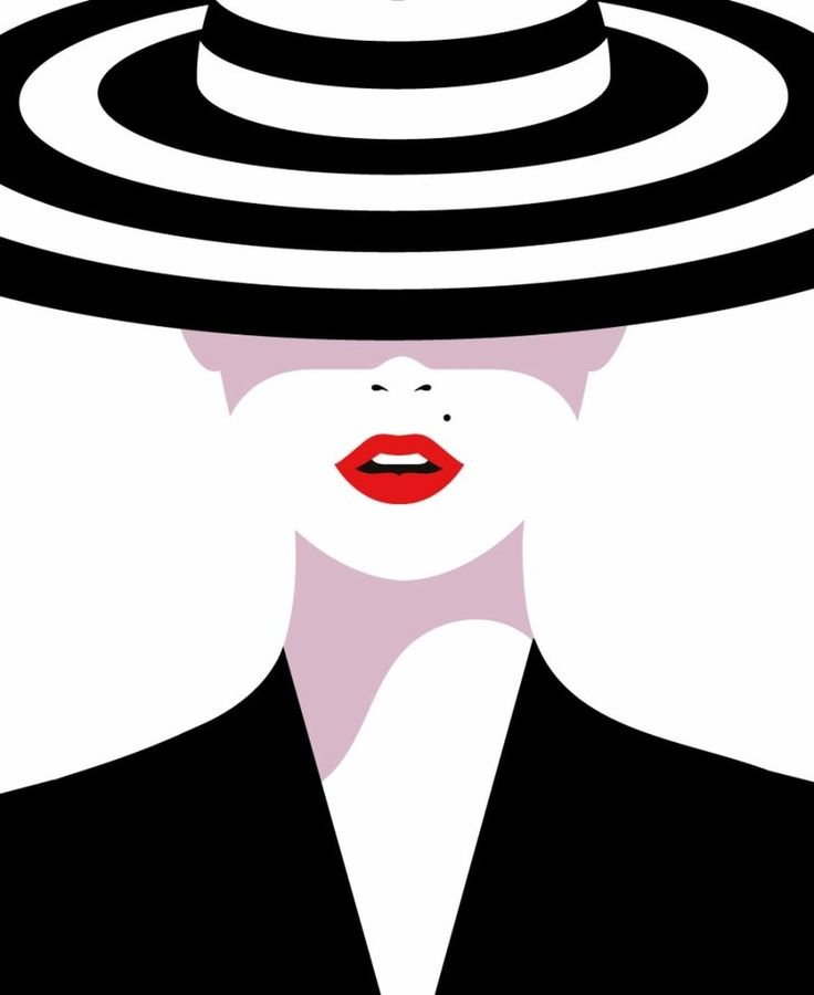 Malika Favre, a french native– London based, graphic artist with a verybold, minimal style – often described as Pop Art meets OpArt – is a striking lesson in the use of positive/negative sp…