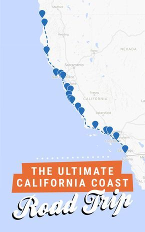 The ultimate California coast road trip, all the way from Crescent City in the north to San Diego in the south! Get the full itinerary over at Road Trippin' The States.