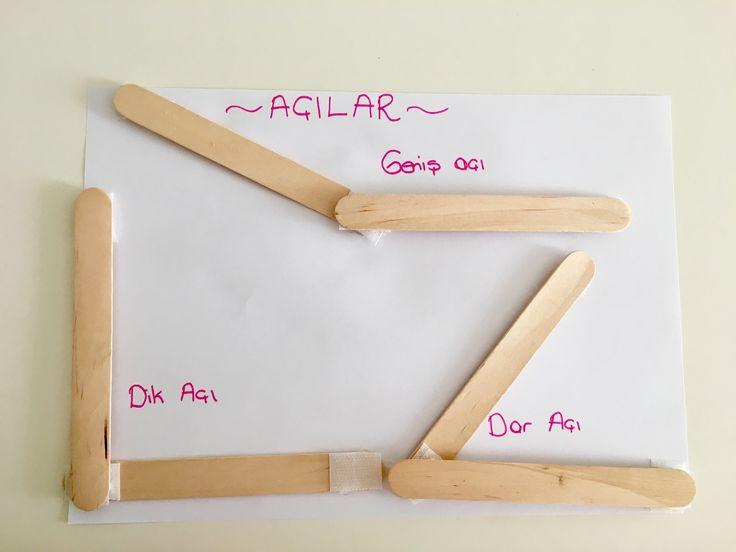 Abeslang çubuklarına cırt cırt takıp açıları öğreniyoruz   Çiğdem öğretmen