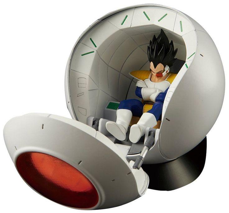 Bandai Figure-rise Mechanics Dragon Ball Z Saiyan Space Pod Plastic Model Kit FS #Bandai