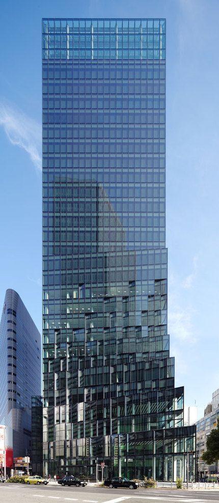 Fukoku Tower DOMINIQUE PERRAULT ARCHITECTURE