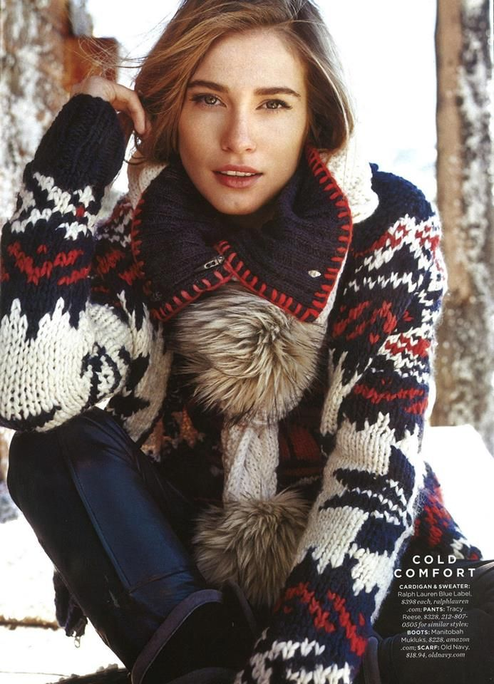 Ralph Lauren Cold weather Dressing Iconic Sweaters 2014 Want this!!