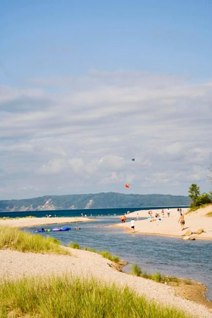 Platte River, Michigan  At the southern border of Sleeping Bear Dunes National Lakeshore (30 miles west of Traverse City)