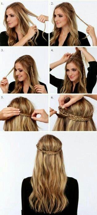 Inicia la semana con los #Peinados más #sencillos y lindos. Te encantarán. #PeinadosFaciles #pasoapaso #tutorial #style