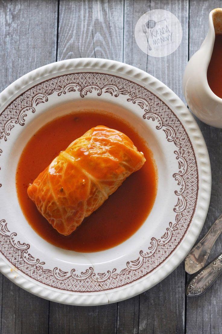 Kardamonovy: Gołąbki z pęczakiem i mięsem mielonym