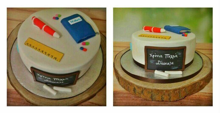 Teacher's cake