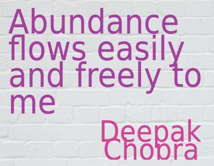 #Abundance #thedesiremap