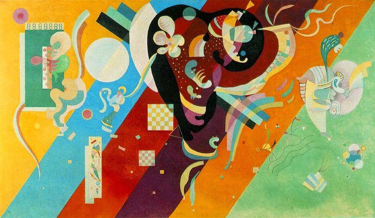 Por Amor al Arte: Wassily Kandinsky precursor de la Abstracción lírica.